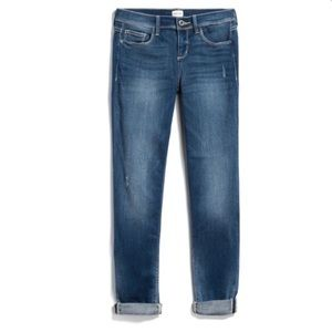 ID:23 Carrie Distressed Girlfriend Cropped Jean 26